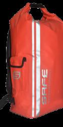 Safewaterman Waterdichte tas Waterproof Bag 35 Lt rood