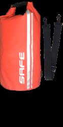 Safewaterman Waterdichte tas Waterproof Bag 10 Lt rood