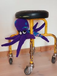 Paarse octopus