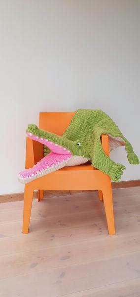 Krokodillen kleed